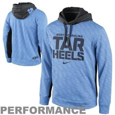 Lexi/james---(30 each) North Carolina Tar Heels Nike KO Performance Hoodie - Carolina Blue Color