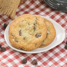 I spied these Thin Chewy Chocolate Chip Cookies, a perennial favorite of my better half. And a little cookie dough sampling for me. Win-Win.