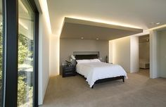 master bedroom - contemporary - bedroom - san francisco - Mark English Architects, AIA
