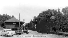 Location: Calabogie, ON  Railway Name: CANADIAN PACIFIC RAILWAY CO.  Caption: Kingston and Pembroke Railway