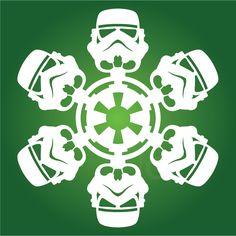 Stormtrooper - Star Wars Snowflake