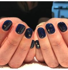 40 Stylish Easy Nail Polish Art Designs for This Summer for 2019 – Page 33 of 40 - Beauty Home - Beauty. 40 Cute Star Nail Art Designs For Women 2019 Page 29 of 40 - Star Nail Art, Star Nails, Teen Nail Art, Nail Art Blue, Teen Nails, Cute Nails, Pretty Nails, Nail Art Designs, Nails Design