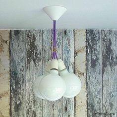 Lampa LOFT inVIOLET kolorowy kabel design (5733765813) - Allegro.pl - Więcej niż aukcje.