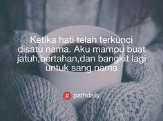 Aku siap kok susah seneng bareng kamu ❤️☺️ #pathdaily #pathdailystory #pathdailyindo #pathdailyindonesia #dagelan
