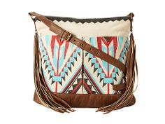 Navajo-inspired fringe bag from Billabong. #bags #accessories #zappos