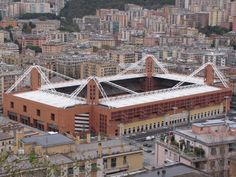 #EstadiosDelMundo Stadio Marassi, Genova buscanos en #pinterest.com/solofanaticos/