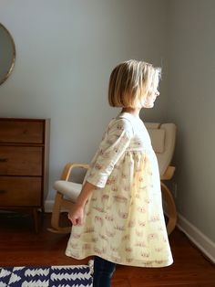 Kitty Geranium Sewing Pattern with sleeves / Made by Rae
