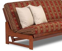your bayside  futon frame is a real space saver  the bayside futon frame makes biltmore full futon frame  a futon cover gets more flavor      rh   pinterest