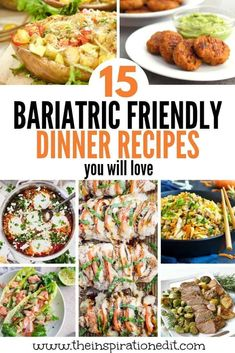 The Best Bariatric Dinner Recipes - Gastric Bypass Surgery & Recipes - Click through to see these amazing Bariatric friendly recipes. Finding gastric bypass recipes is no - Pureed Food Recipes, Diet Recipes, Cooking Recipes, Healthy Recipes, Soft Food Recipes, Simple Recipes, Summer Recipes, Bariatric Eating, Bariatric Surgery