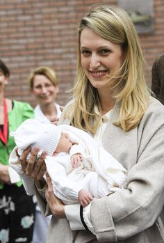 Baby Archduchess Anna Astrid and Princess Elisabetta are both doing well.
