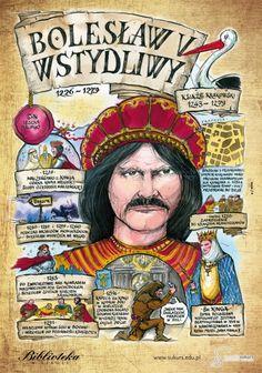 Bolesław Wstydliwy - Poczet królów polskich - PlanszeDydaktyczne.pl