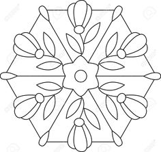 Stained glass patterns for free - Free stained glass patterns 209 Stained Glass Designs, Stained Glass Patterns, Mosaic Patterns, Applique Patterns, Stained Glass Art, Applique Quilts, Quilt Patterns, Flower Patterns, Mandala Coloring Pages