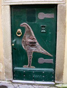 It's a bird, It's a door... | Flickr - Photo Sharing!