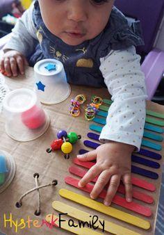 Le plateau d'activités sensorielles [DIY]