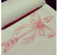 arrow with bow ❤️