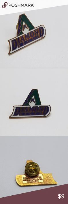 Arizona Diamondbacks Pin Lapel Pin MLB Baseball Arizona Diamondbacks Pin Lapel Pin MLB Baseball Pin   Comes on Original Card  You will receive exactly what is pictured.   Note: Contains small pieces. Keep out of reach of children. Vintage Jewelry Brooches