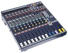Soundcraft EFX 8 - Thomann www. Sound Engineer, Phantom Power, Drum Machine, Pre And Post, Gears, Audio, Mixer, Led, Engineers
