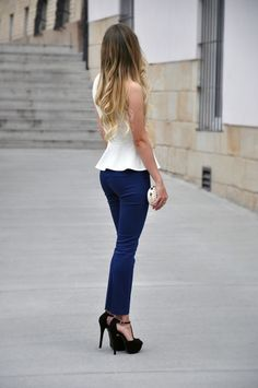 Un outfit sencillo pero con mucho glamour
