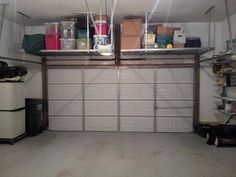 Lovely Garage Door Storage Rack