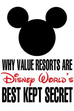 Why Disney World's Value Resorts are their Best Kept Secret. Plan your family vacation to Disney World on a budget with this great tip!