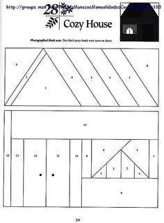 Шаблоны для пэчворка 101 Foundation-Pieced Quilt Blocks 039