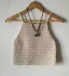 Crochet Bra, Crochet Crop Top, Love Crochet, Crochet Clothes, Diy Clothes, Crochet Designs, Crochet Patterns, Knitted Swimsuit, Cute Outfits