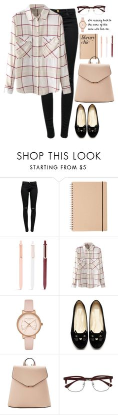 """Home"" by mere903 ❤ liked on Polyvore featuring J Brand, WithChic, Ted Baker, MANGO and EyeBuyDirect.com"