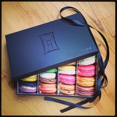French macaroons. I want to try these so bad!