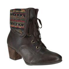 Bota Dakota B6124 - Café (Artigas/Himba) - Calçados Online Sandálias, Sapatos e Botas Femininas   Katy.com.br