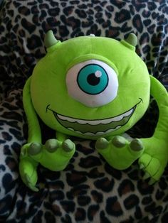 Monsters Inc. Mike Wazowski Stuffed Animal Plush Toy