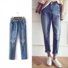 eed479008b 9 Best Women's Jeans images | Blue Jeans, Denim pants, Fashion styles