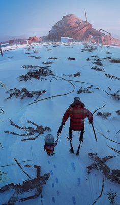 ArtStation - Giant Robot, Jimmy Kim