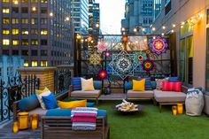 Summer in the city: W Hotel New York answer the prayers of tent-loving urbanites with glamping suite...