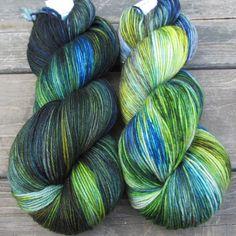 Night Lights - Yowza - Babette | Miss Babs Hand-Dyed Yarns & Fibers, Inc.