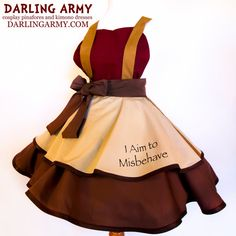 Captain Mal Firefly Cosplay Pinafore by DarlingArmy.deviantart.com on @DeviantArt