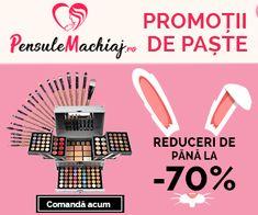 Până la -70% Discount – PensuleMachiaj a dat startul Reducerilor cu Oferte de Paște Convenience Store, Convinience Store