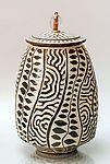 Sgrafitto 13: Ron Mello: Ceramic Vessel | Artful Home