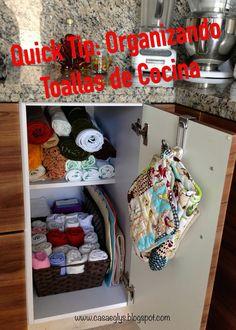 #Quick Tip #Organizando #toallas de #cocina #towels #kitchen