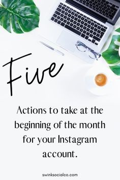 With a new month starting it's a great time to reflect on the past month and prepare for the month ahead.⠀⠀⠀⠀⠀⠀⠀⠀⠀ ⠀⠀⠀⠀⠀⠀⠀⠀⠀ Below are five things that I do each month to help keep my social media on track: #instagram #instagramtips #instagramforbusiness #instagramtipsandtricks #creativeentrepreneur #socialmedia Social Media Tips, Social Media Marketing, Facebook Marketing, Marketing Strategies, Marketing Ideas, Business Marketing, Business Tips, Instagram Story Ideas, Instagram Tips