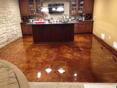 4 Seasons Floors - Columbus, OH - Concrete Contractors - The Concrete Network Concrete Coatings, Concrete Finishes, Mansfield Ohio, Smooth Concrete, Acid Stain, Concrete Contractor, Hardwood Floors, Flooring, Stained Concrete