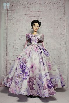 Elizabeth in Purple Rose. | Flickr - Photo Sharing!