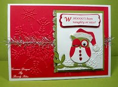 Winking Owl Santa