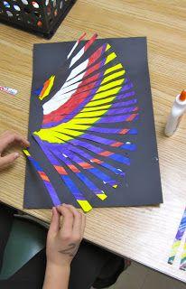 Amazing Art Adventures : Moving Lines (3rd grade)