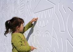 landezine children playground wall - Google Search