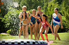 Summer Birthday Party Idea: Water Party #summer #activity