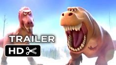 Get prehistoric with the 1st look teaser trailer for 'The Good Dinosaur'.
