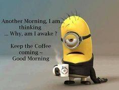 Keep the coffee coming..