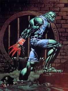 Killer Croc screenshots, images and pictures - Comic Vine Gotham Characters, Comic Villains, Comic Book Characters, Comic Character, Comic Books Art, Comic Art, Book Art, Comic Pics, Batman Universe