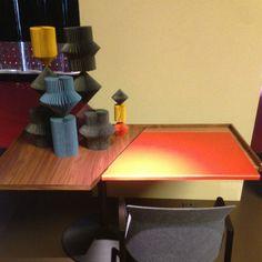 Neuer Schreibtisch von Cassina mit beweglicher Tischplatte aus Leder
