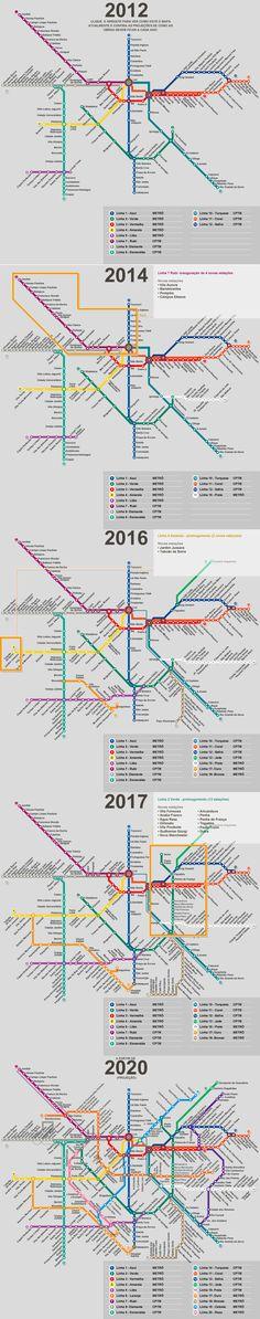 metro de sp, projeção (nunca vai acontecer)    http://www.terra.com.br/noticias/infograficos/metro-novas-estacoes/